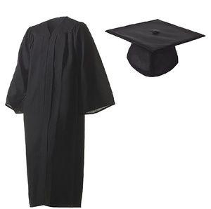 Herff Jones Black Cap and Gown